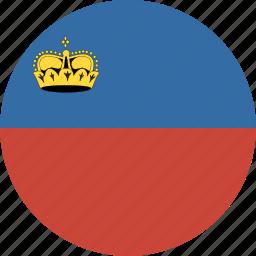 circle, liechtenstein icon