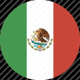 circle, mexico icon