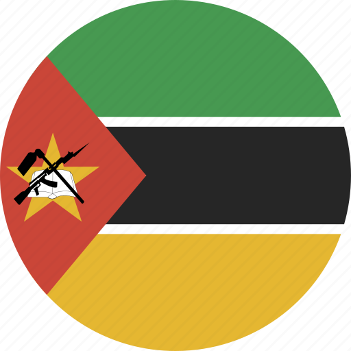 circle, mozambique icon