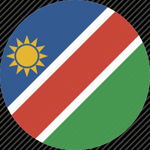 circle, namibia icon