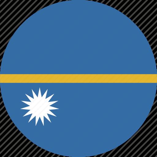circle, nauru icon