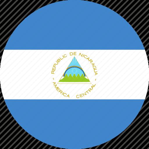 circle, nicaragua icon