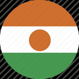 circle, niger icon