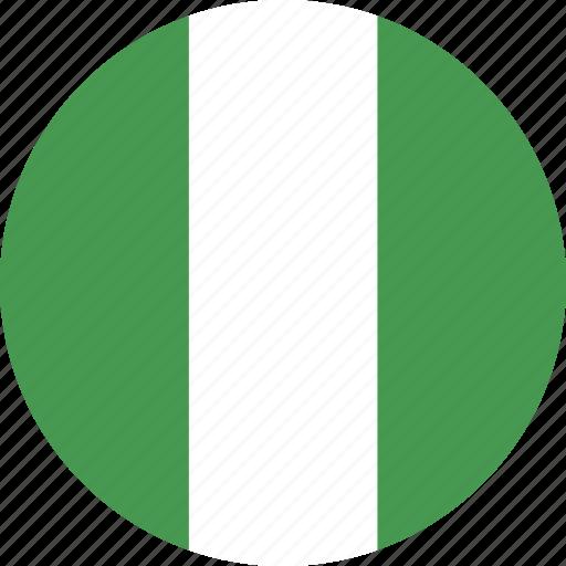 circle, nigeria icon