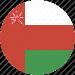 circle, oman icon