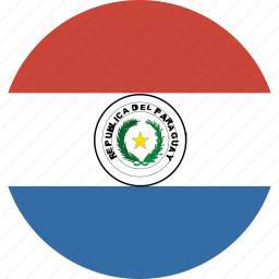circle, paraguay icon