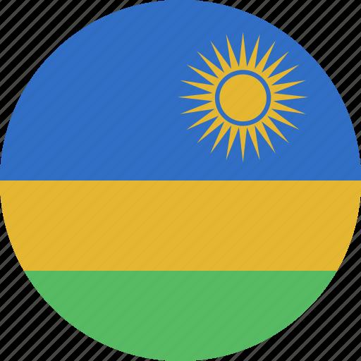 circle, rwanda icon