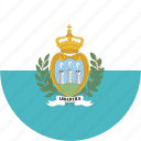 circle, marino, san icon
