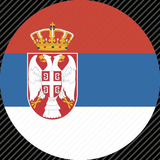circle, serbia icon