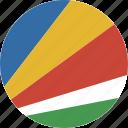 circle, seychelles icon