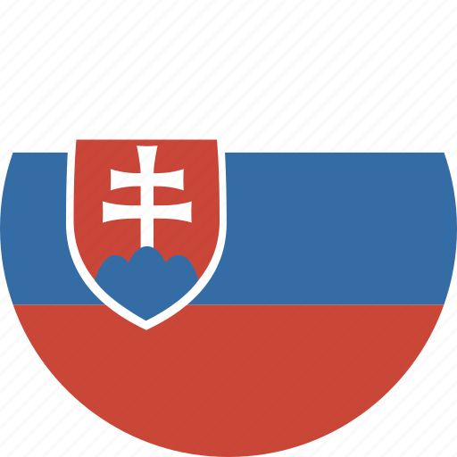 circle, slovakia icon