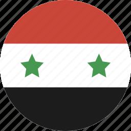 circle, syria icon