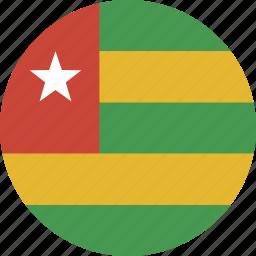 circle, togo icon