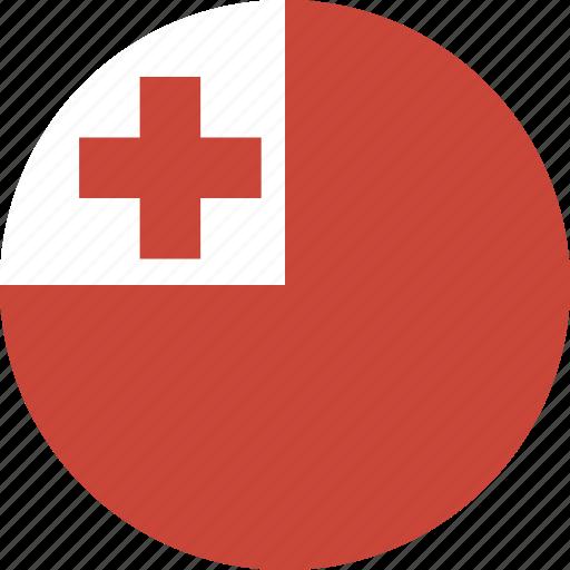 circle, tonga icon