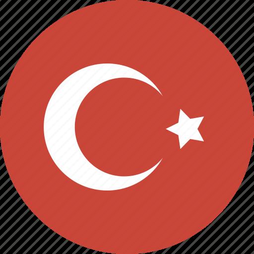 circle, turkey icon