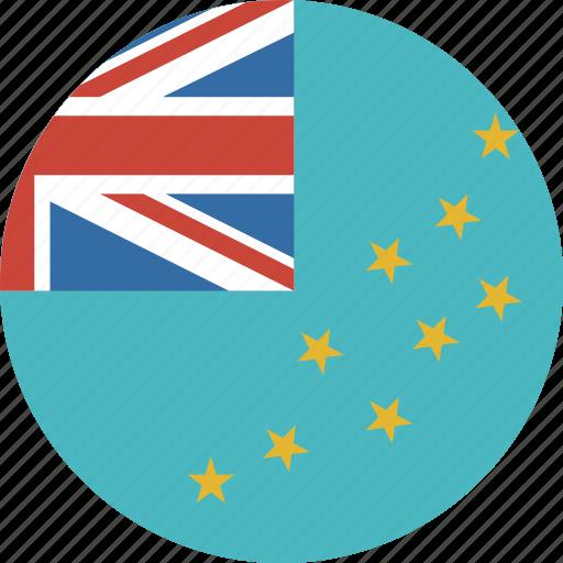 circle, tuvalu icon