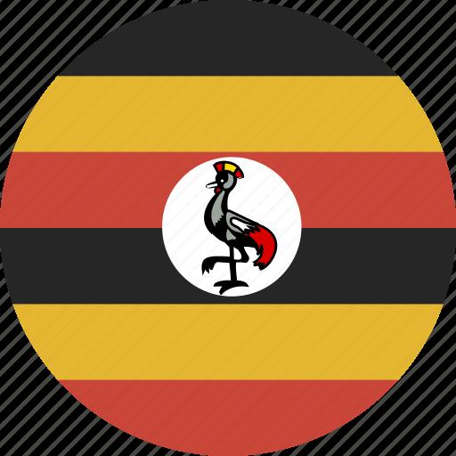 circle, uganda icon