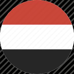 circle, yemen icon