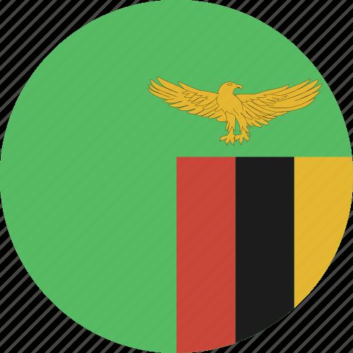 circle, zambia icon