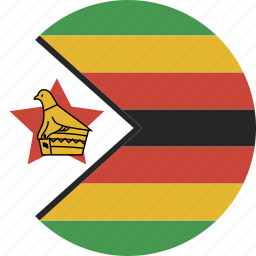 circle, zimbabwe icon