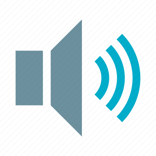 audio, high, media, music, speaker, volume, volume level icon