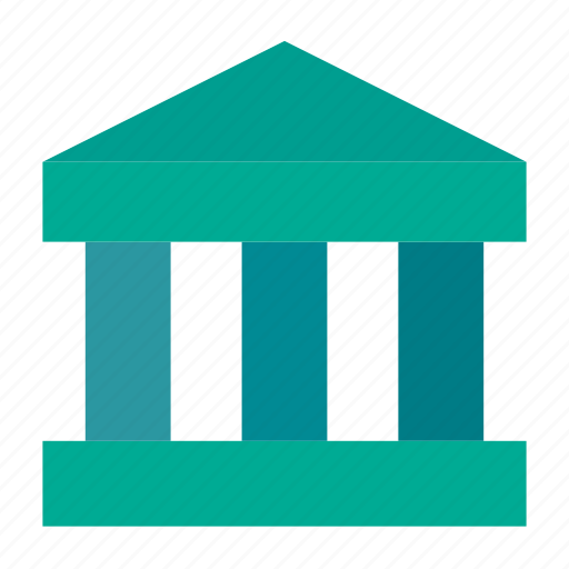 bank, bank account, bank service, building, capital, finance, museum icon