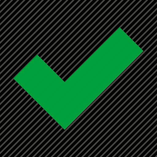 check, check mark, checked, checkmark, correct, good, success icon
