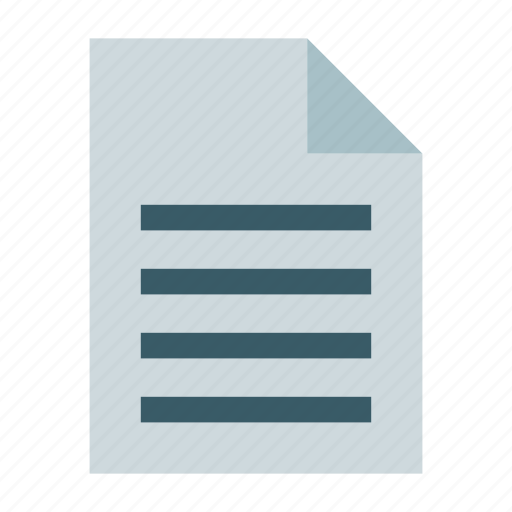 decoument, document, file, page, paper, text document, text file icon