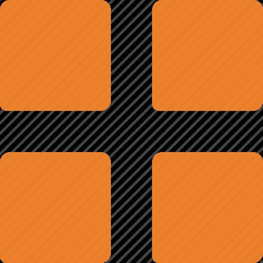 grid, layout, menu, options, organization icon