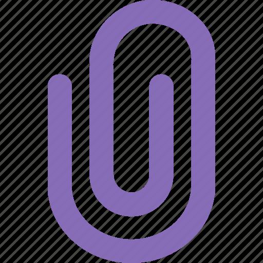 attach, attached, attachment, clip, document, paper, paperclip icon