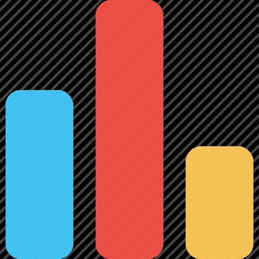 analysis, analytics, bar, chart, graph, report, statistic icon
