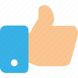 favourite, gesture, hand, like, love, thumb, up icon