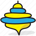 humming top, plaything top, spinning top, spinning toy, toy top icon