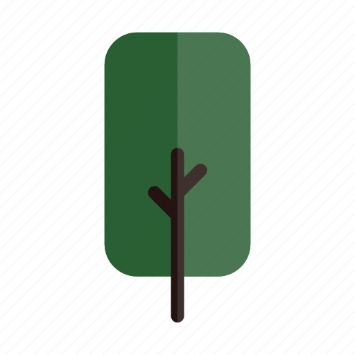 autumn, branches, green, nature, plant, rect, tree icon