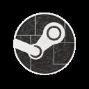 engine, games, hexagon, media, social, steam icon