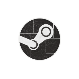engine, games, hexagon, media, social, steam icon
