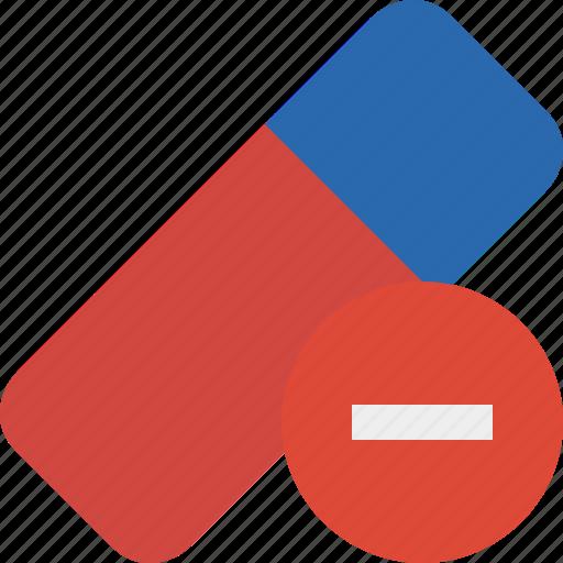 clean, delete, erase, eraser, remove, rubber, stop icon