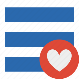 favorites, list, menu, nav, navigation, options, toggle icon