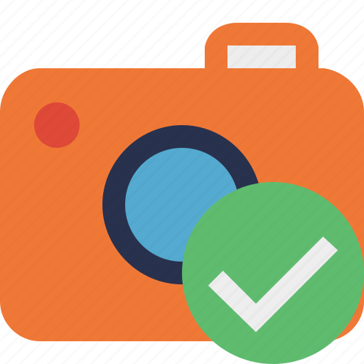 camera, ok, photo, photocamera, photography, picture, snapshot icon