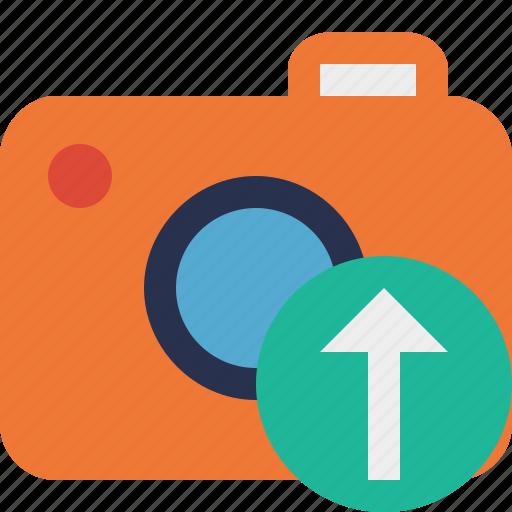 camera, photo, photocamera, photography, picture, snapshot, upload icon