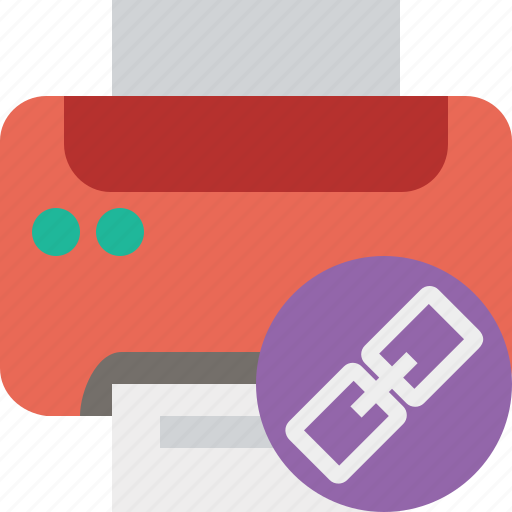 document, link, paper, print, printer, printing icon