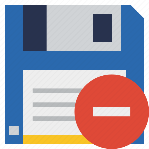 backup, data, disk, download, file, save, stop icon