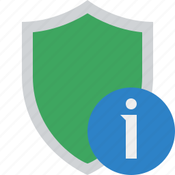 information, protection, safety, secure, security, shield icon