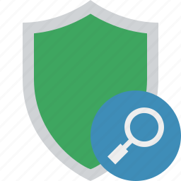 protection, safety, search, secure, security, shield icon