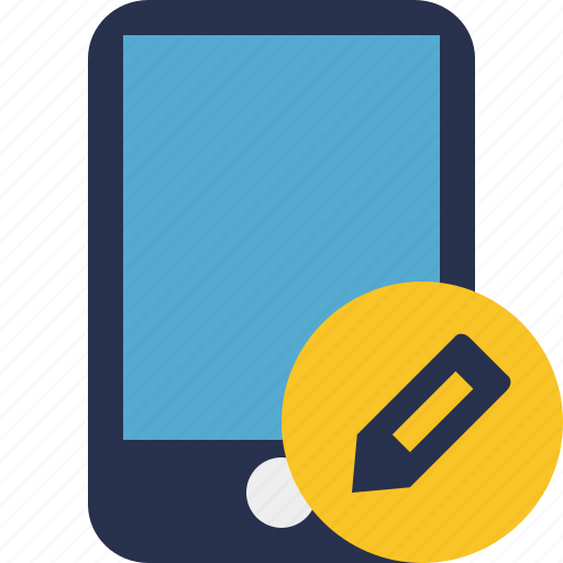 device, edit, iphone, mobile, phone, smartphone icon