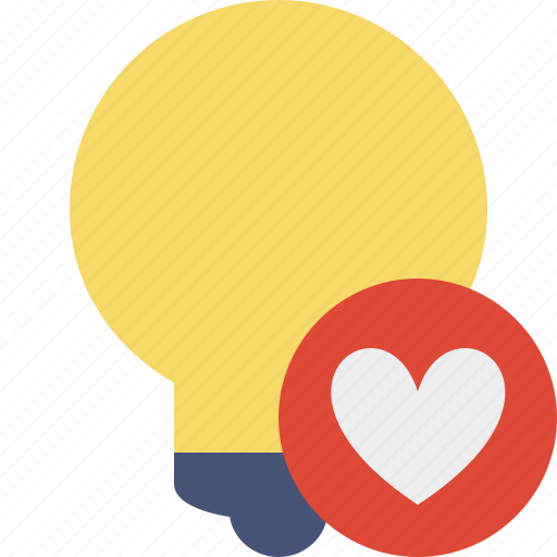 bulb, favorites, idea, light, tip icon