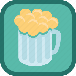 alcohol, badge, beer, drink, gamification, glass icon
