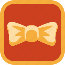 badge, bow, gamification icon