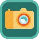 badge, camera, gamification, multimedia, photo, picture icon