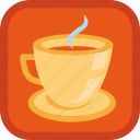 badge, coffee, cup, gamification, hot, mug, tea icon